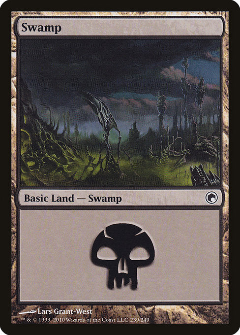 Swamp [Scars of Mirrodin] | Galactic Gamez