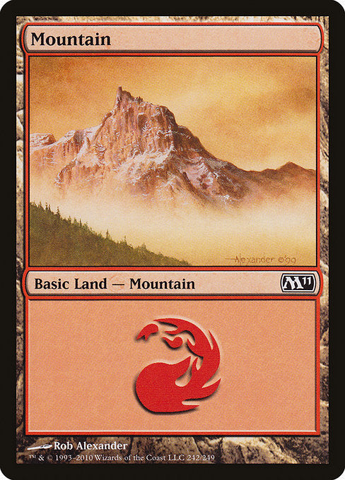 Mountain [Magic 2011] | Galactic Gamez
