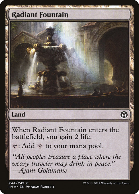 Radiant Fountain [Iconic Masters] | Galactic Gamez