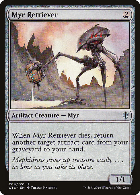 Myr Retriever [Commander 2016] | Galactic Gamez