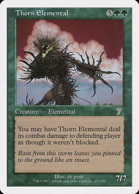 Thorn Elemental [Seventh Edition] | Galactic Gamez