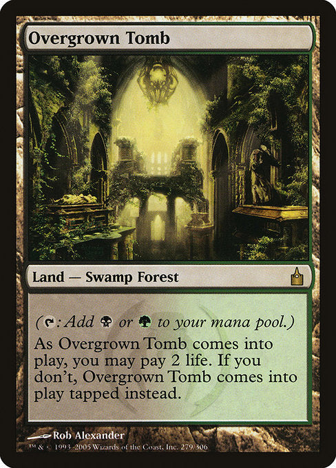 Overgrown Tomb [Ravnica: City of Guilds] | Galactic Gamez