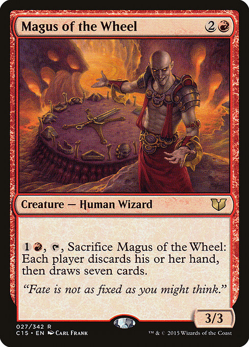 Magus of the Wheel [Commander 2015] | Galactic Gamez