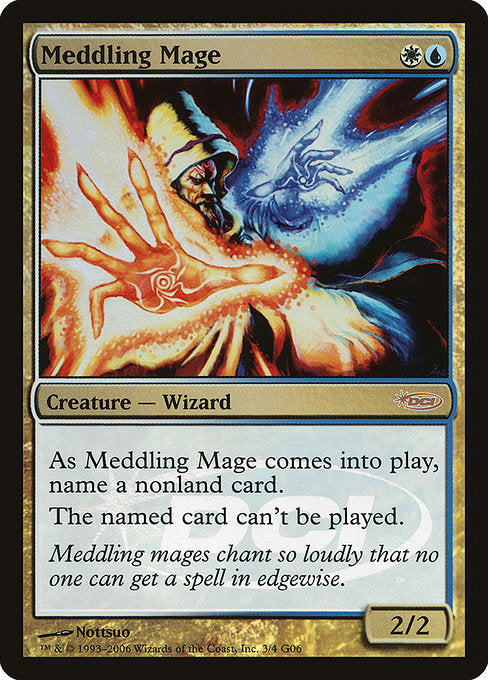 Meddling Mage [Judge Gift Cards 2006] | Galactic Gamez