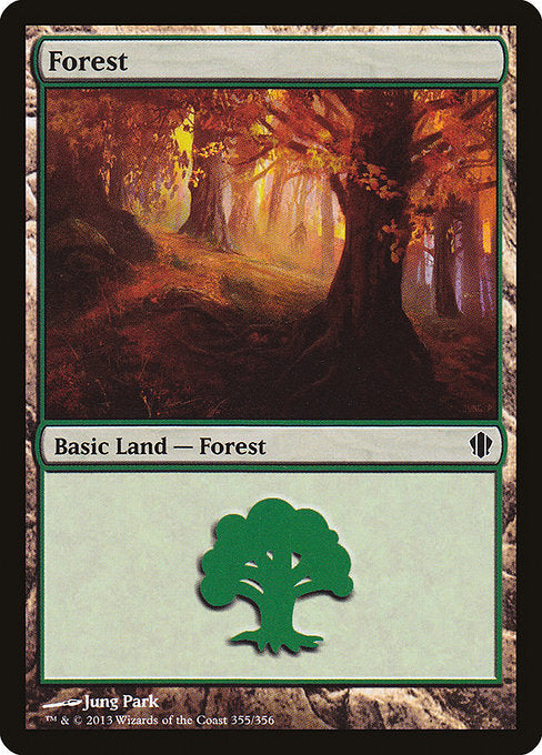 Forest [Commander 2013] | Galactic Gamez
