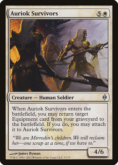 Auriok Survivors [New Phyrexia] | Galactic Gamez