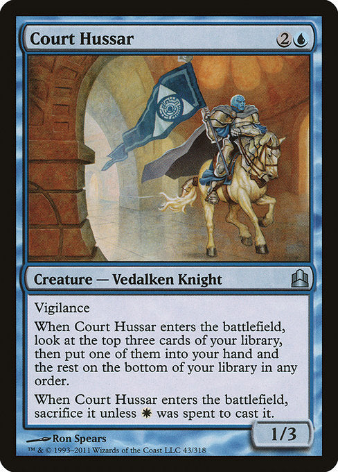 Court Hussar [Commander 2011] | Galactic Gamez