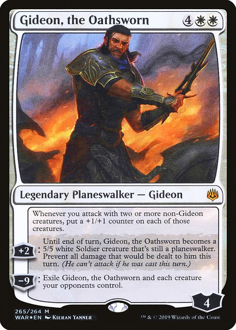Gideon, the Oathsworn [War of the Spark] | Galactic Gamez
