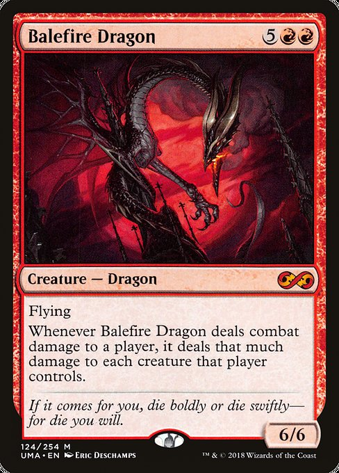 Balefire Dragon [Ultimate Masters] | Galactic Gamez