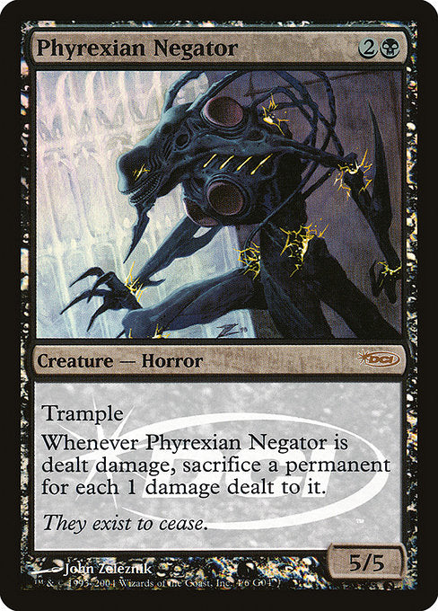Phyrexian Negator [Judge Gift Cards 2004] | Galactic Gamez