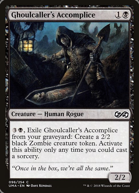 Ghoulcaller's Accomplice [Ultimate Masters] | Galactic Gamez