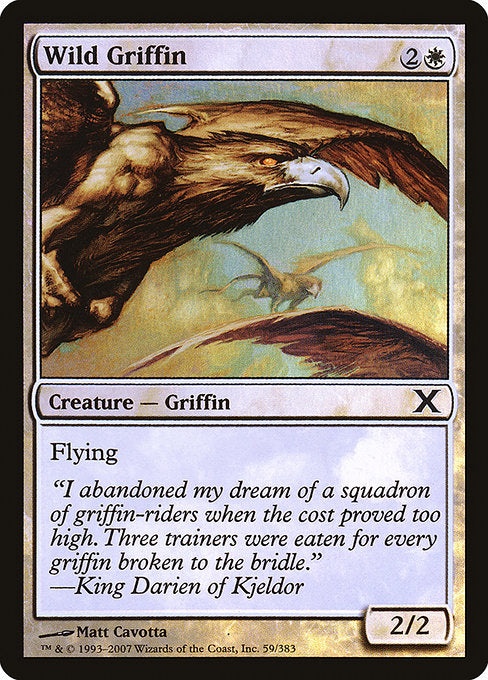 Wild Griffin [Tenth Edition] | Galactic Gamez
