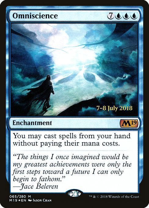 Omniscience [Core Set 2019 Promos] | Galactic Gamez