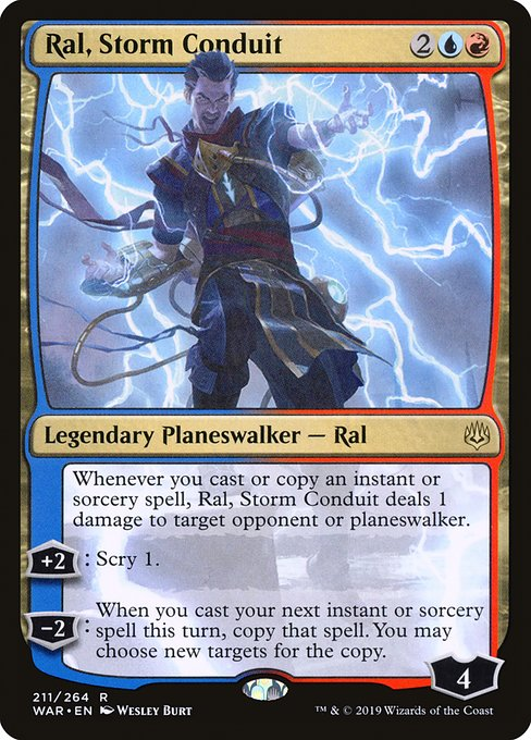 Ral, Storm Conduit [War of the Spark] | Galactic Gamez