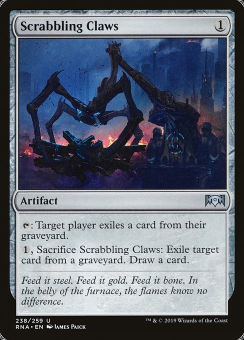 Scrabbling Claws [Ravnica Allegiance] | Galactic Gamez