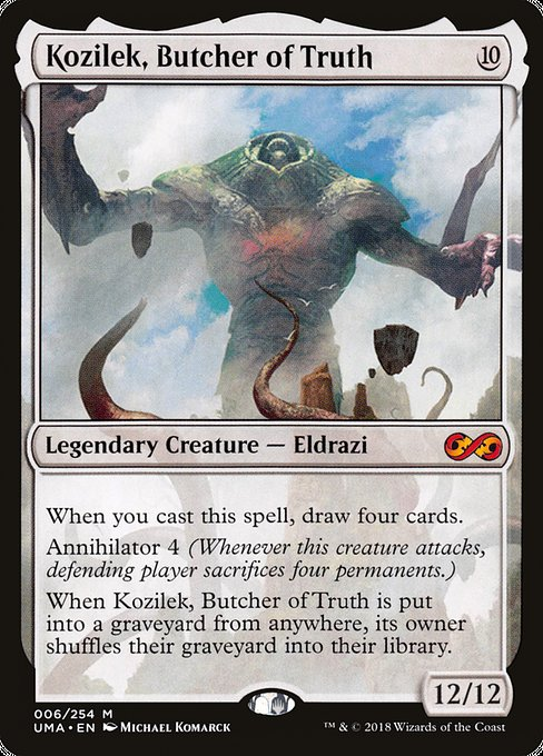 Kozilek, Butcher of Truth [Ultimate Masters] | Galactic Gamez