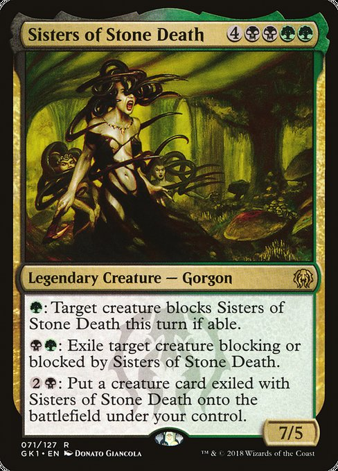 Sisters of Stone Death [GRN Guild Kit] | Galactic Gamez