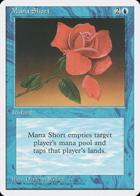 Mana Short [Fourth Edition] | Galactic Gamez
