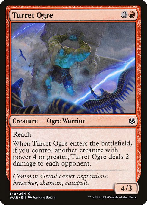 Turret Ogre [War of the Spark] | Galactic Gamez