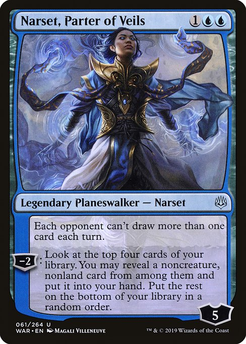 Narset, Parter of Veils [War of the Spark] | Galactic Gamez