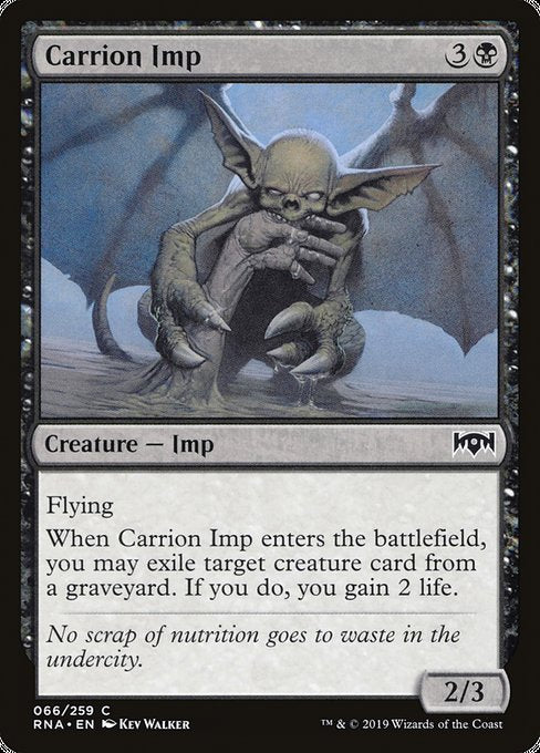 Carrion Imp [Ravnica Allegiance] | Galactic Gamez