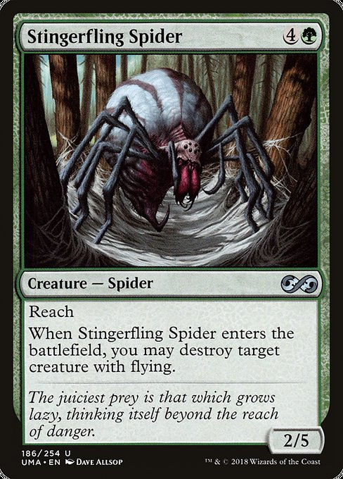 Stingerfling Spider [Ultimate Masters] | Galactic Gamez