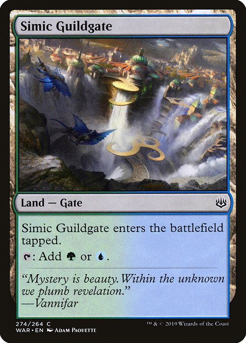 Simic Guildgate [War of the Spark] | Galactic Gamez