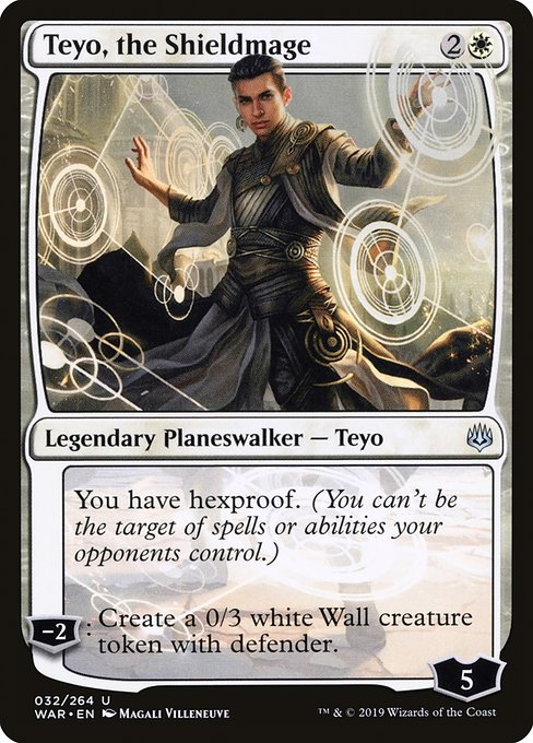 Teyo, the Shieldmage [War of the Spark] | Galactic Gamez