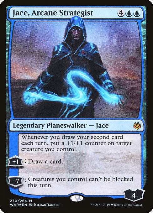 Jace, Arcane Strategist [War of the Spark] | Galactic Gamez