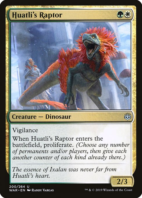 Huatli's Raptor [War of the Spark] | Galactic Gamez