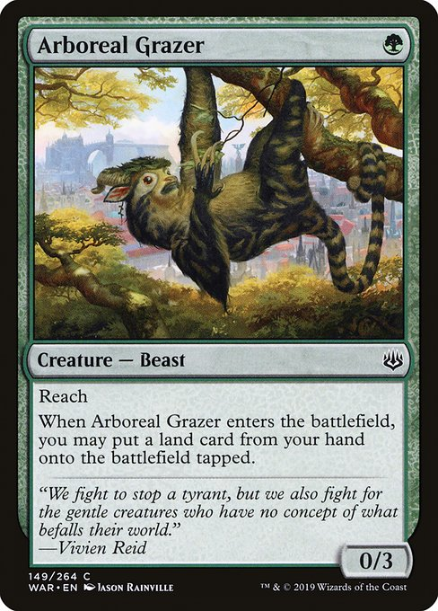 Arboreal Grazer [War of the Spark] | Galactic Gamez