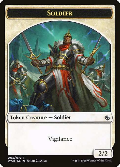 Soldier [War of the Spark Tokens] | Galactic Gamez