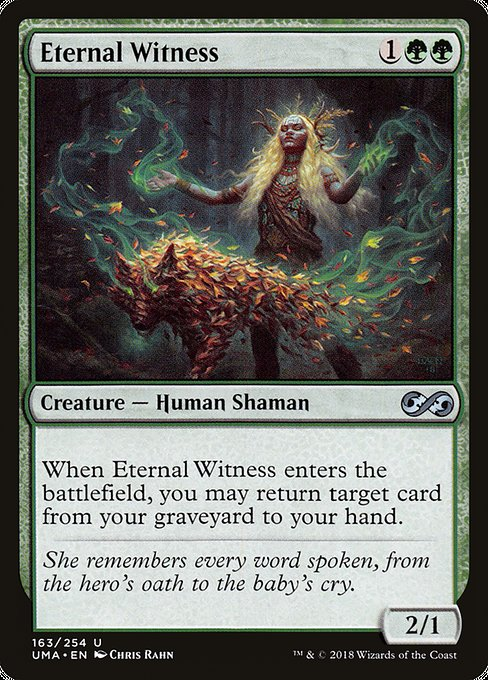 Eternal Witness [Ultimate Masters] | Galactic Gamez