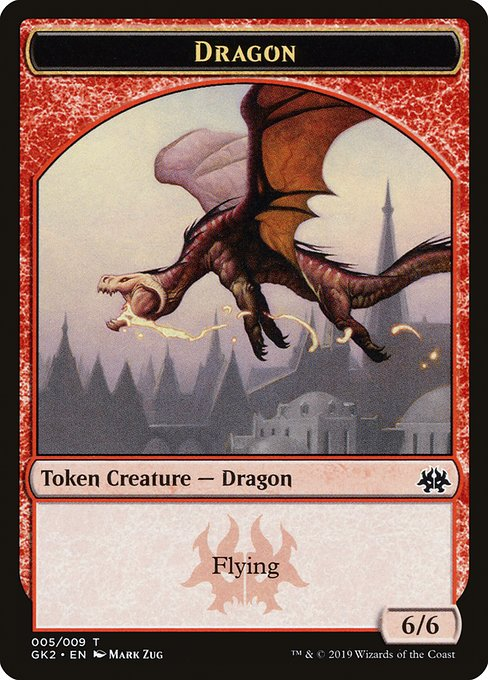 Dragon [RNA Guild Kit Tokens] | Galactic Gamez