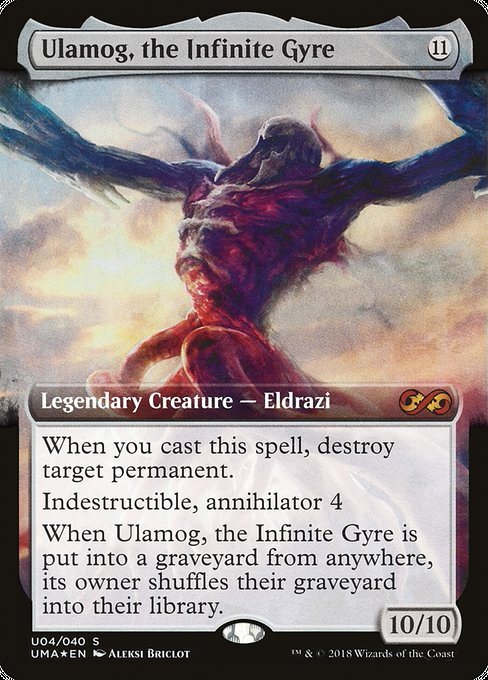 Ulamog, the Infinite Gyre [Ultimate Box Topper] | Galactic Gamez