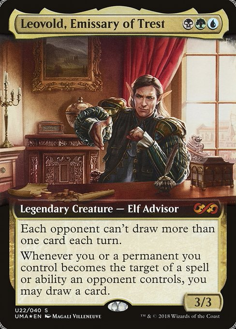 Leovold, Emissary of Trest [Ultimate Box Topper] | Galactic Gamez