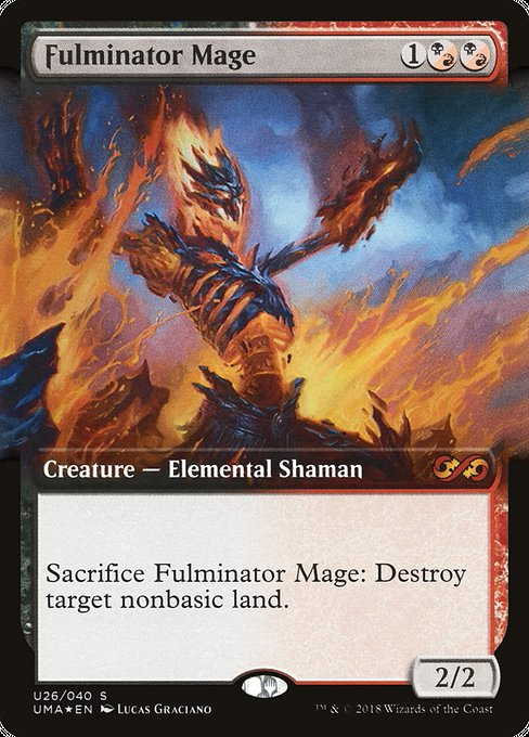 Fulminator Mage [Ultimate Box Topper] | Galactic Gamez