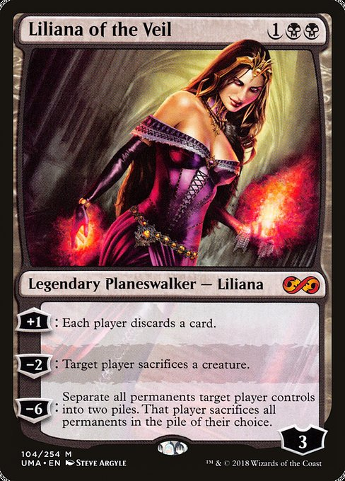 Liliana of the Veil [Ultimate Masters] | Galactic Gamez