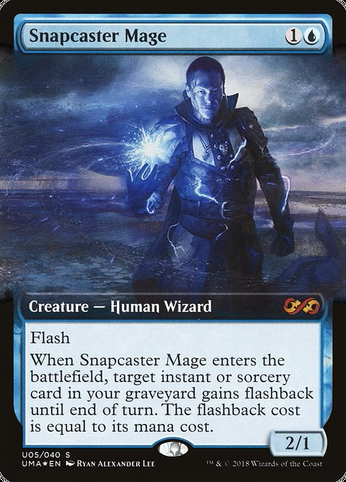 Snapcaster Mage [Ultimate Box Topper] | Galactic Gamez
