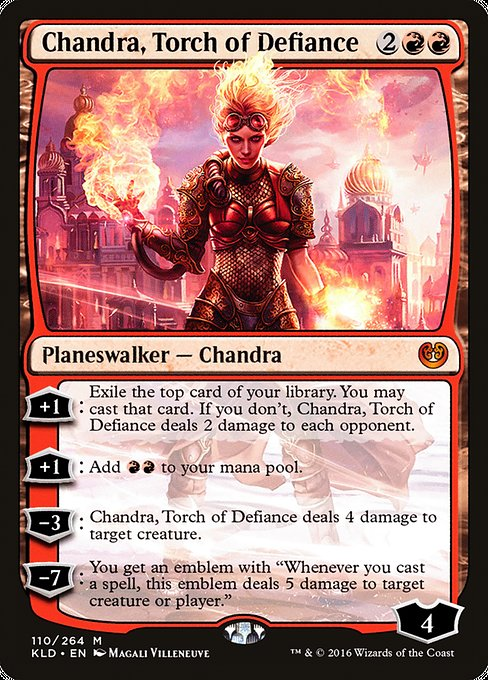 Chandra, Torch of Defiance [Kaladesh] | Galactic Gamez
