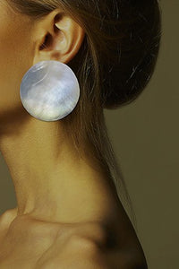 Shell Sphere Earring - Single piece
