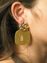 Load image into Gallery viewer, Uneva Earrings - Gold - Pair