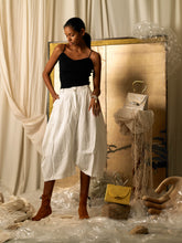 Load image into Gallery viewer, Creased Pant-skirt - Ivory