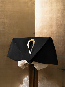 Artisanal Trigon Bag - Black