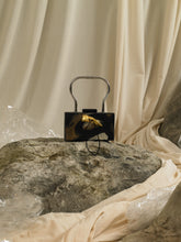 Load image into Gallery viewer, Artisanal Gaia Horn Clutch - Paradis Nuit