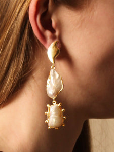 Eos Earring - Gold - Pair