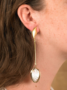 Vaia Drop Earrings - Gold - Pair