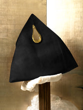 Load image into Gallery viewer, Artisanal Trigon Bag - Black