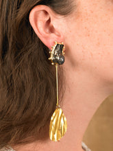 Load image into Gallery viewer, Vartola Drop Earrings - Gold - Pair