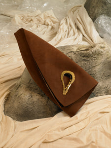 Artisanal Trigon Bag - Brown